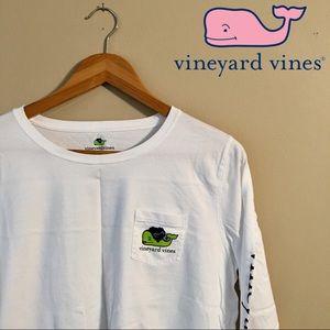 Vineyard Vines Halloween Long Sleeve Top
